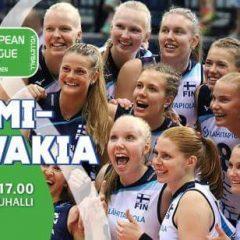 Naisten Euroopan liigan välierä Helsingissä
